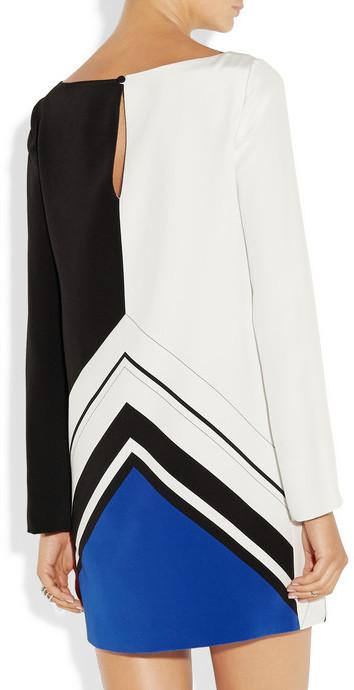 Emilio Pucci Printed silk-crepe mini dress