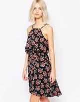 Brave Soul Poppy Print Sun Dress