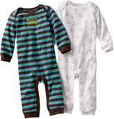 Carter's 2-pk. striped & monkey coveralls - baby
