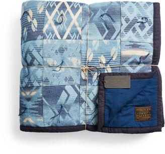 Ralph Lauren Limited-Edition Indigo Patchwork Quilt
