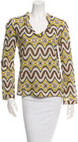 Tory Burch Long Sleeve Embellished Tunic