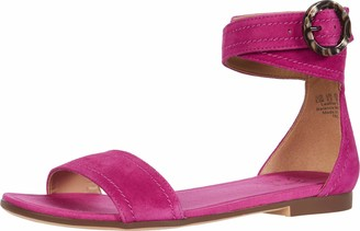 Naturalizer Womens Talia Bamboo Tan Ankle Straps 6 M