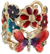 GUESS Butterfly Flower Ring Ring