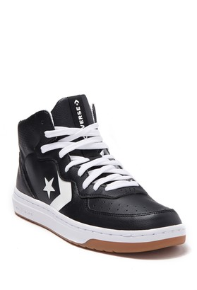 Converse Rival Mid-Top Leather Sneaker