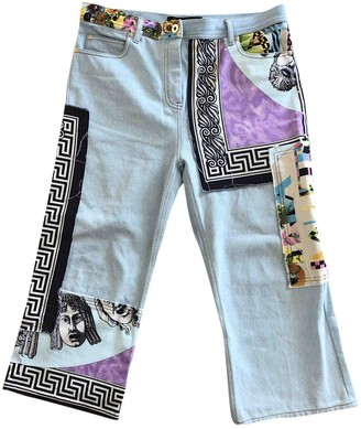 Gianni Versace Blue Denim - Jeans Jeans for Women