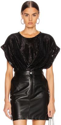 IRO Mia Top in Black | FWRD