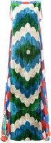 Afroditi Hera patterned maxi dress