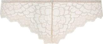 Simone Perele Floral Lace Thong