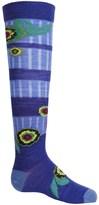 Smartwool Dappled Flower Socks - Merino Wool, Over the Calf (For Little and Big Girls)