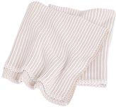 Jo-Jo JoJo Maman Bebe Knitted Stripe Blanket - Natural