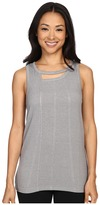 Zobha Tank Top w/ Back Trim Detail and Double Neckline
