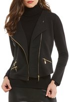 Antonio Melani Renee Knit Zip Front Jacket