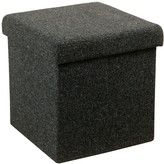 HomePop Square Collapsible Storage Ottoman