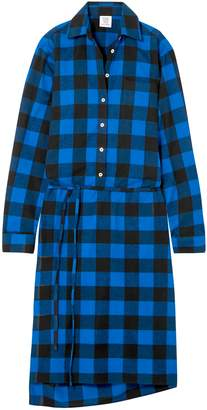 Vetements Checked Flannel Shirt Dress
