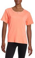 Allison Daley Petite Banded Hot Fix T-Shirt