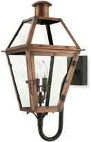 Bed Bath & Beyond Quoize® l Rue De Royal 2-Light Outdoor Bottom-Mount Lamp w/Aged Copper Finish and Clear Glass