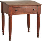 Rejuvenation Mahogany Writing Desk from Roswell Military Institute