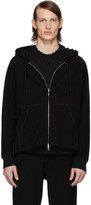 Craig Green Black Laced Zip-Up Hoodie