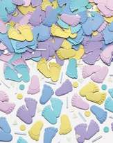 Amscan Confetti 1/2 Ounce-Baby Steps
