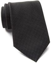 Calvin Klein Clover Micro Dot Silk Tie