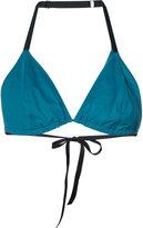 Malia Mills triangle bikini top - women - Nylon/Spandex/Elastane - 32D