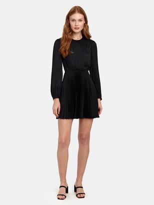 A.L.C. Tavi Pleated Mini Dress