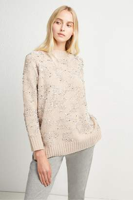 French Connection Rosemary Sequin Knit Jumper