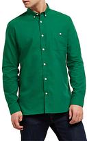 Jaeger Soft Touch Oxford Shirt, Green