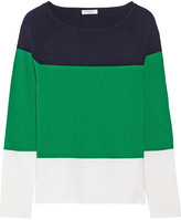 Equipment Joseline cotton and cashmere-blend sweater