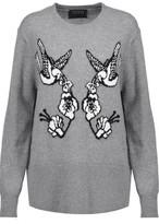 Markus Lupfer Intarsia-Knit Wool Sweater