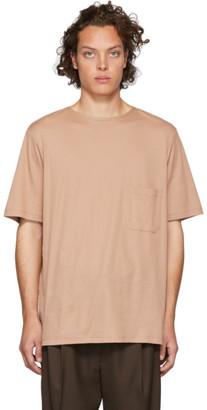 Lemaire Pink Sunspel Edition Pocket T-Shirt