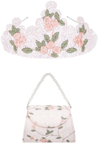 Monsoon Fairy Dust Embroidered Bag & Tiara Set
