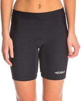 "Coeur Women's Little Black 8"" Triathlon Shorts 8145157"