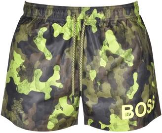 Boss Business BOSS Camoushark Swim Shorts Green