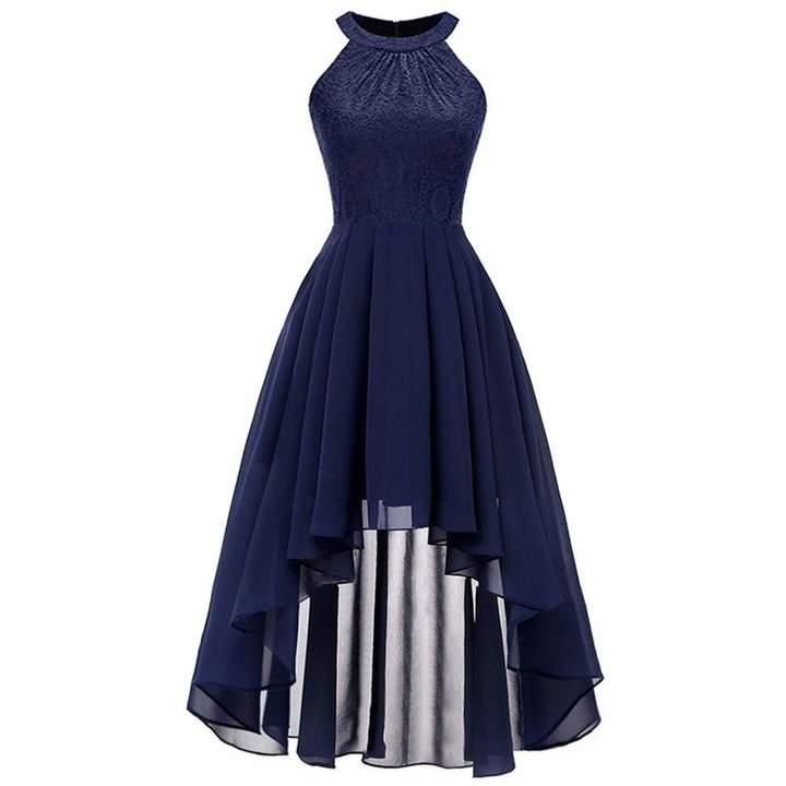 Dempuss Women Vintage Off Shoulder Zipper Cocktail Party Aline Swing Dress