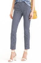 J.Crew Women's Martie Windowpane Print Pants