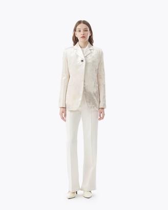 3.1 Phillip Lim Single Button Velvet Blazer