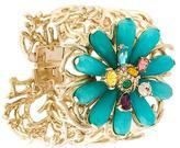 Oscar de la Renta embellished flower cuff