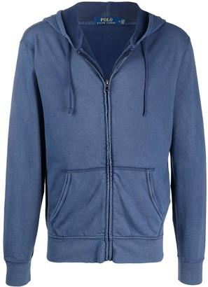 Polo Ralph Lauren Hooded Zip Up Sweater