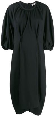 Henrik Vibskov Exhale textured oversized dress