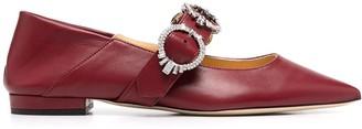 Giannico Betty ballerina shoes