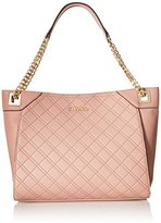 Calvin Klein Permanent Quilted Pebble Tote, Deep Blush
