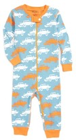 Hatley Infant Boy's Print Fitted One-Piece Organic Cotton Pajamas