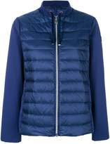 Hetregó jersey-panelled puffer jacket
