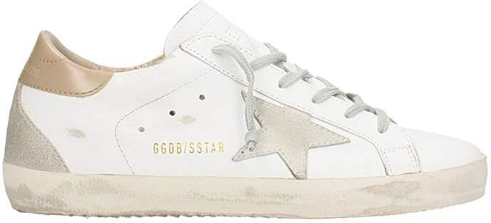 Golden Goose Superstar White Leather Sneakers