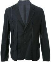 Yohji Yamamoto piping single jacket