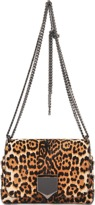 Jimmy Choo Lockett Petite Leopard bag