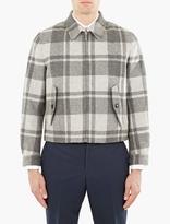 Thom Browne Checked Wool Harrington Jacket