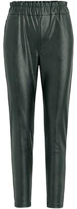 Joe's Jeans Faux Leather Paperbag Pants