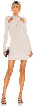 NBD Crossover Mini Dress